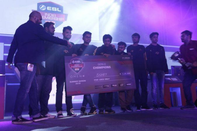 Esl India 2018