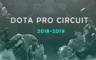 Dota2 Pro Circuit 2018-2019