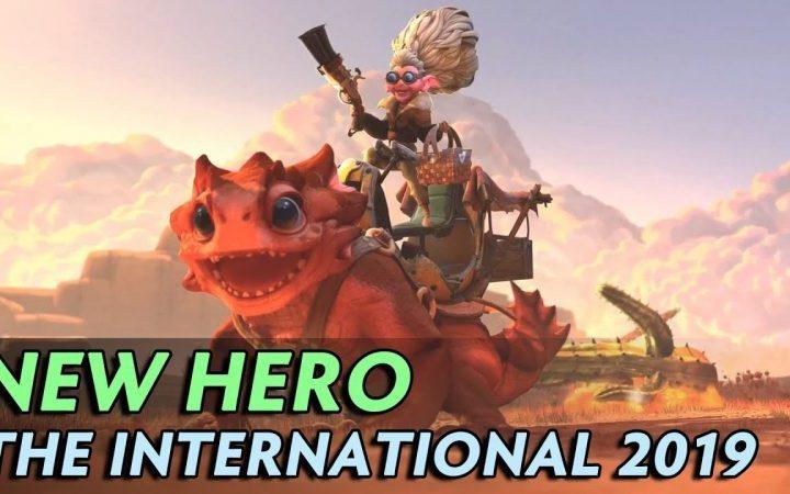 New Hero Dota2 T19 Reveal - Snapfire