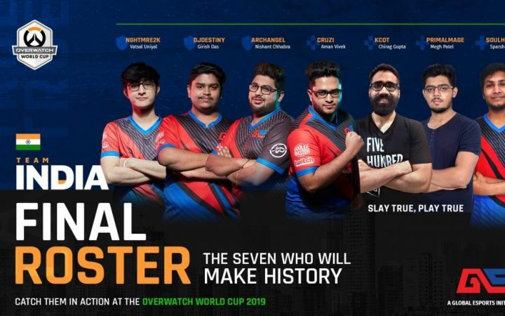 Global Esports Selects Team India For Overwatch World Cup