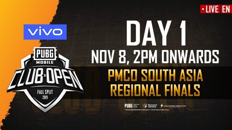 PMCO Fall Split South Asia Finals 2019