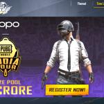 Oppo Pubg Mobile India Tour – 1.5 Crores Prize Pool
